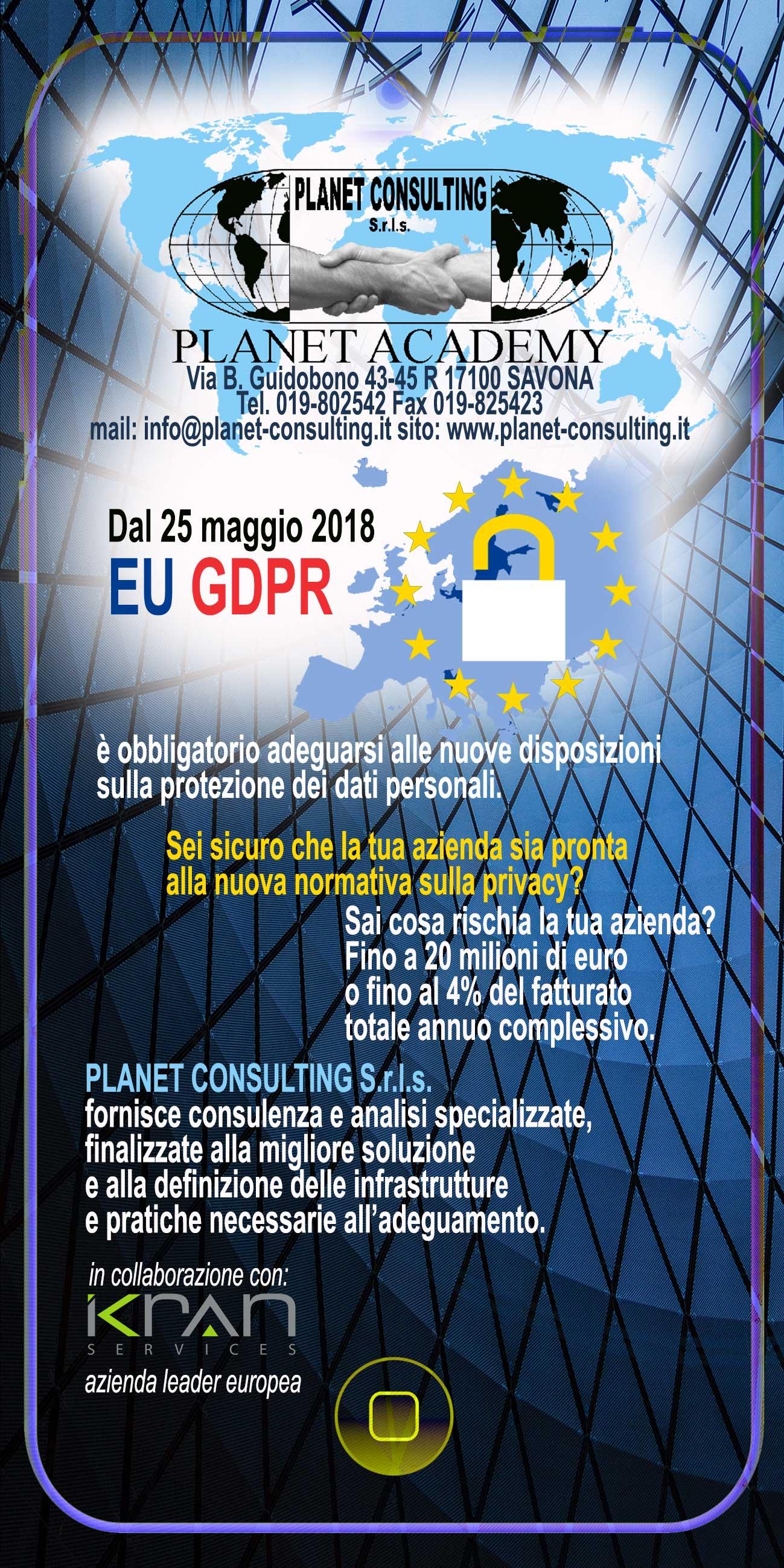 GDPR dati sensibili privacy